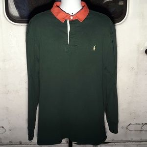 Ralph Lauren Polo Rugby long sleeve size 2XB